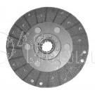 "W676673 9"" Dual Stage Clutch Woven Disc Fiat 411R Oliver 1250"