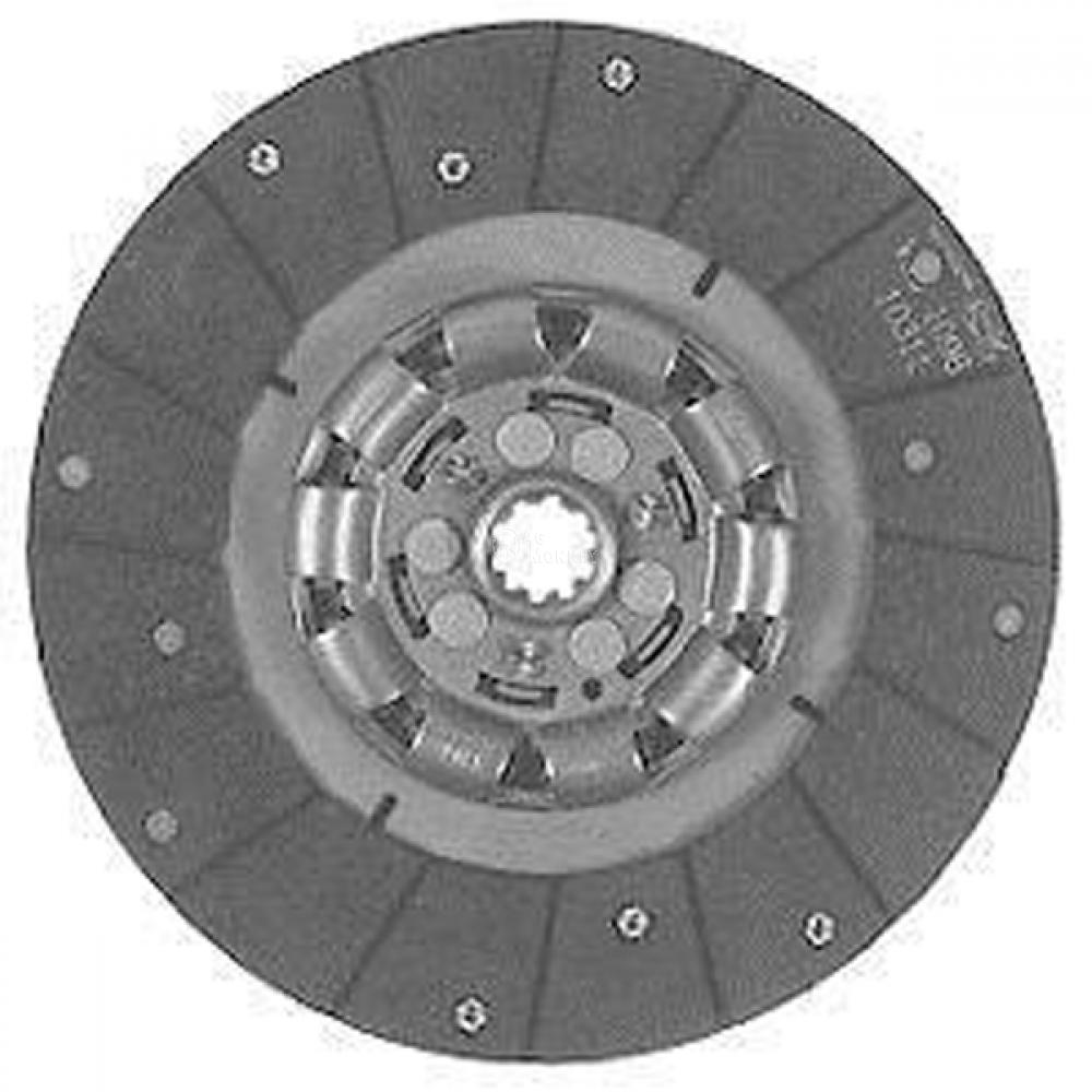 "360488 NEW 10 1/2""  Woven Single Stage Clutch Disc International 300 330 340 350 460"