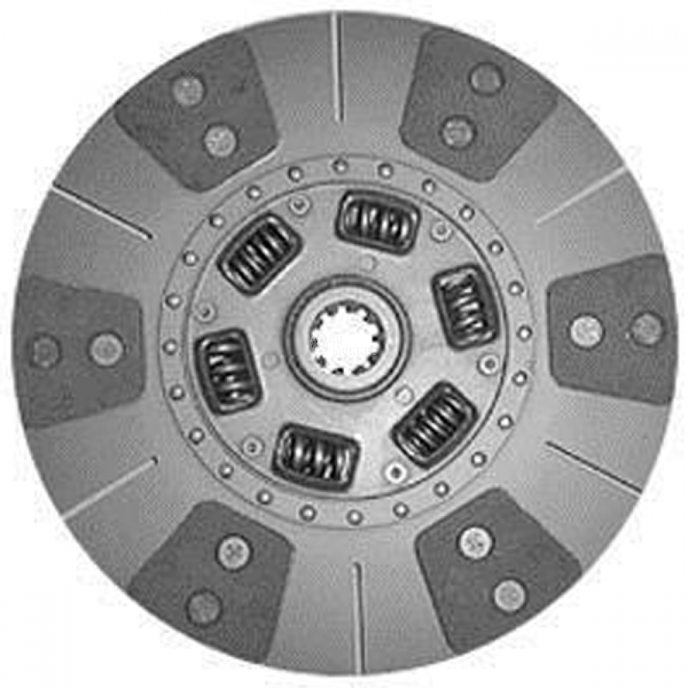 "70093 NEW 11"" Single Stage Clutch Six Pad Disc Case-IH 385 395 485 495 585"