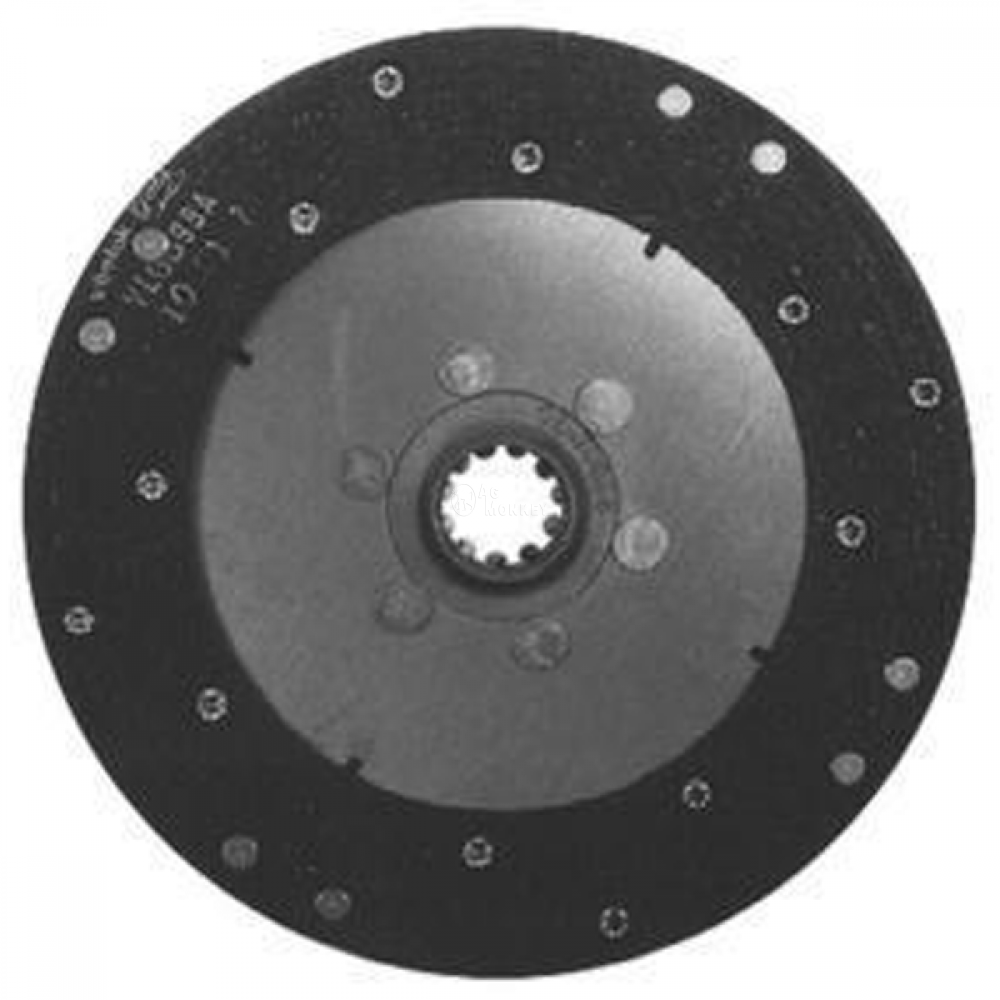 "M180250 NEW 9"" Single Stage Woven Clutch Disc Massey Ferguson TO35 35 35IND 50"