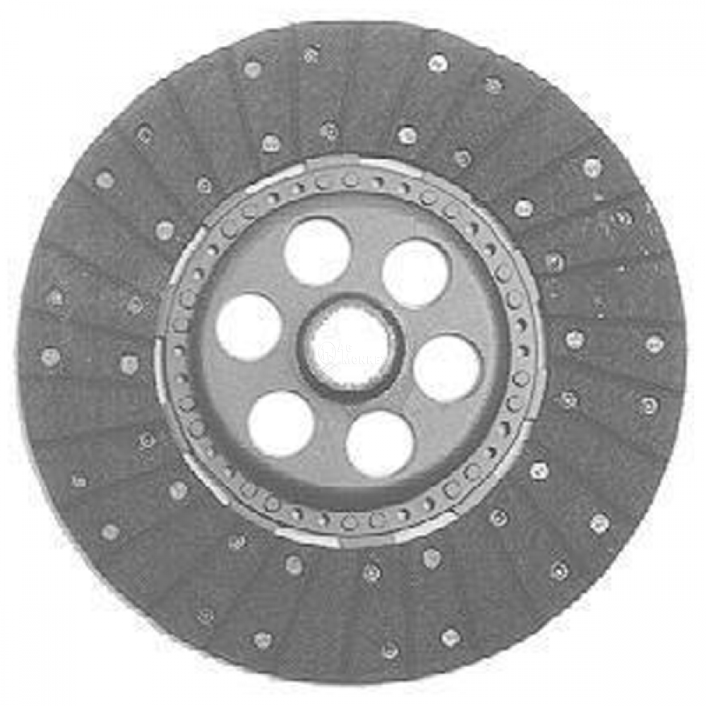 "M671691 NEW 13"" Dual Stage Woven Clutch Disc For Massey Ferguson 283 298 698"