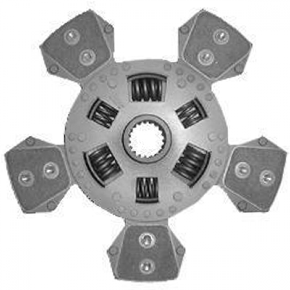 "R64042 NEW 11"" Dual Stage Clutch Disc (5-Pads) John Deere 1250 1450 1650 5200 5210"