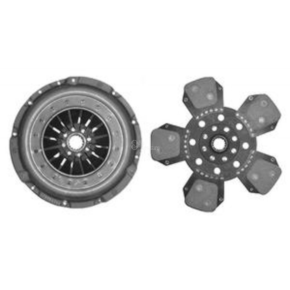 "Z16021904U 13"" Single Stage Clutch PPA Zetor 8540 10520 10540 9520 9540 9641"